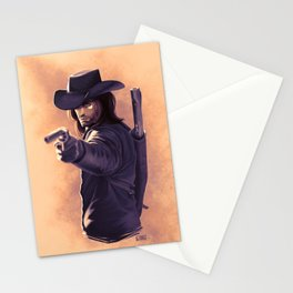 Gunslinger Stationery Cards