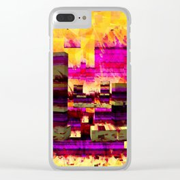 Not Exactly Stonehenge Clear iPhone Case