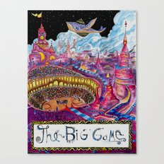 The Big Game Canvas Print