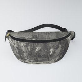 P. Tanjé (1758) - Rival Mathematicians Urinaal and Raasbollius Arguing Fanny Pack