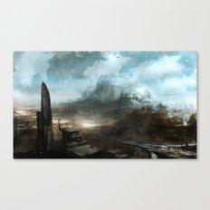 Daedalus Construction Yards Canvas Print