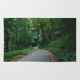 Forest route Rug