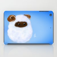 sheep iPad Cases featuring Sheep by quackso