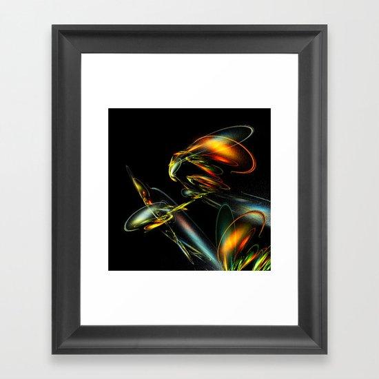 Lightning Bug Framed Art Print