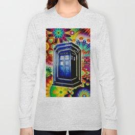 Tardis Colorfull Long Sleeve T-shirt
