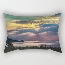 Cloudy sunrise Rectangular Pillow