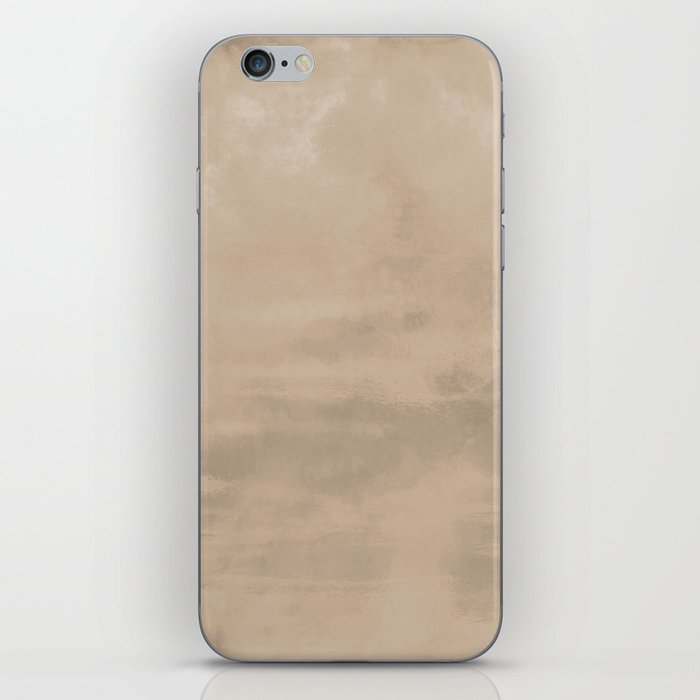 Burst of Color Pantone Hazelnut Abstract Watercolor Blend iPhone Skin