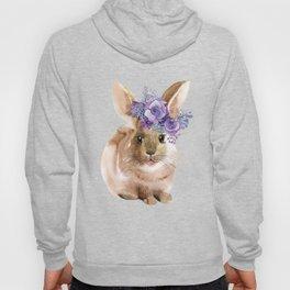 Little bunny in Wreath Hoody