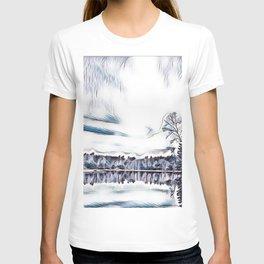Lake in Bala Ontario T-shirt