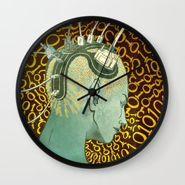 Brainstorming Wall Clock