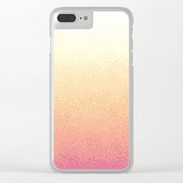 Savannah Sunrise Clear iPhone Case