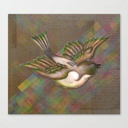 Flying Little Bird Canvas Print