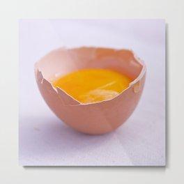 Yellow Metal Print