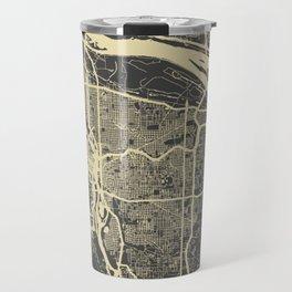 Portland Map Travel Mug