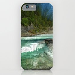 Abstract Landsape iPhone Case