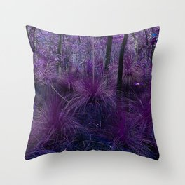 Conway National Park in Purple Throw Pillow
