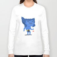 beast Long Sleeve T-shirts featuring Beast by Rod Perich