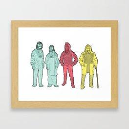 Your Favorite Apes Framed Art Print