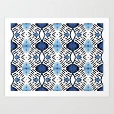Blue Tundra Art Print