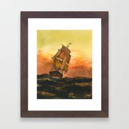 William #9 Framed Art Print
