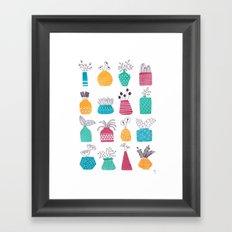 Ornamental Vases Framed Art Print
