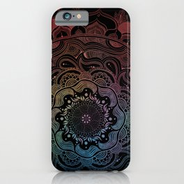 Night Mandala  iPhone Case
