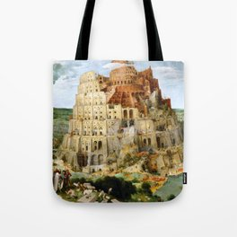 The Tower Of Babel Tote Bag