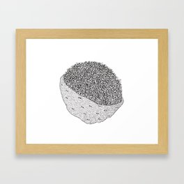Nerved Framed Art Print