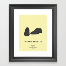 Dress The Part - Usual Suspects Framed Art Print