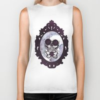 lucas david Biker Tanks featuring Lucas by Gaab D'Amato