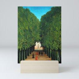 Henri Rousseau - The Avenue in the Park at Saint Cloud Mini Art Print