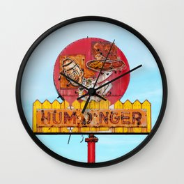 Humdinger! Wall Clock