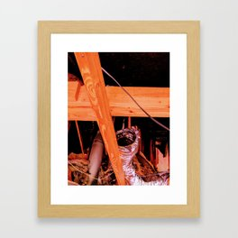 Beauty From the Ashes: The Attic Curiosities Framed Art Print