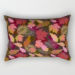 Autumn fall. Rectangular Pillow