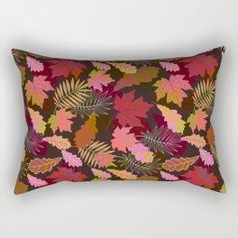 Autumn fall. Rectangular Pillow