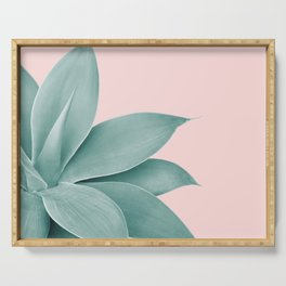 Agave Finesse #3 #tropical #decor #art #society6 Serving Tray