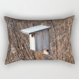 Bird House Rectangular Pillow