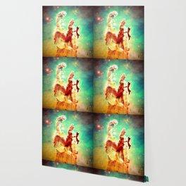 Sunset Nebula  : Pillars of Creation Nebula Wallpaper