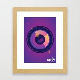OFF09 - Odense International Film Festival Framed Art Print