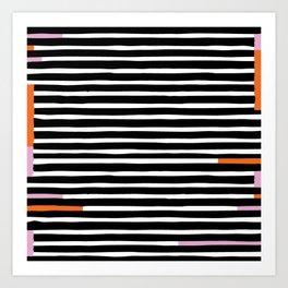 Bright Stripe Art Print