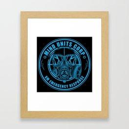 Mind Units Corp - XM Emergency Response Resistance Version Framed Art Print