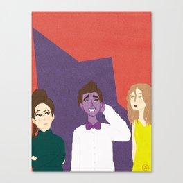 Denton Little Canvas Print
