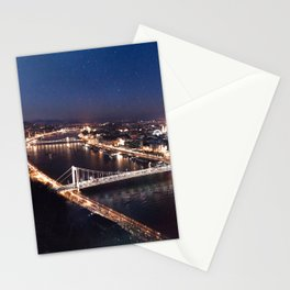 NIGHT TIME IN BUDAPEST Stationery Cards