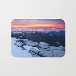 Lenticular Sunset Bath Mat