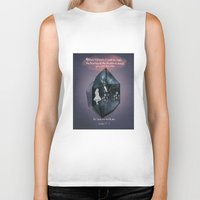 bible Biker Tanks featuring Bible Verse, Calming Quote  by Mittenbunny