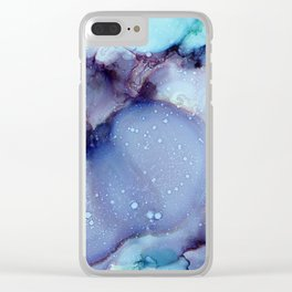 Raindrops 2017 Clear iPhone Case