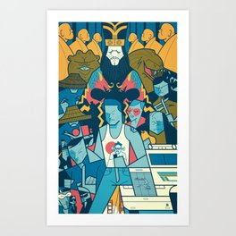 Big Trouble Art Print