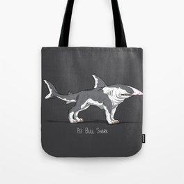 Pit Bull Shark Tote Bag