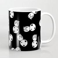 kodama Mugs featuring Kodama! by BlondieAu