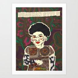 Magnificant Masako Art Print